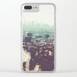 Los Angeles, beach,ocean, surf, downtown, Cali, SoCal, west coast Clear iPhone Case
