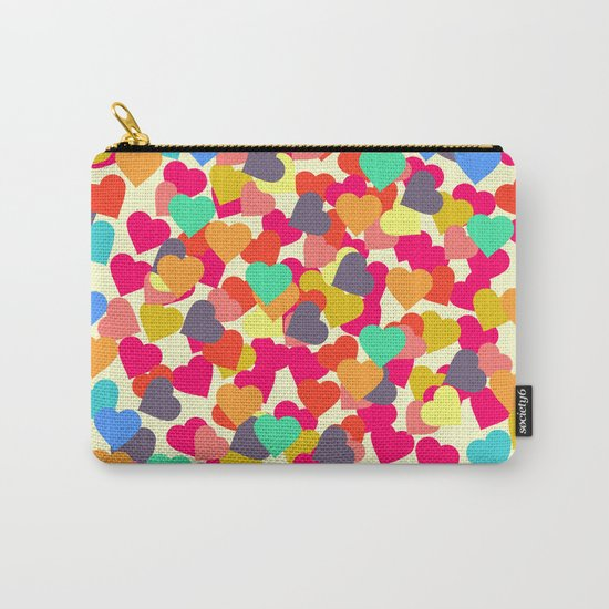 Rain of hearts Carry-All Pouch