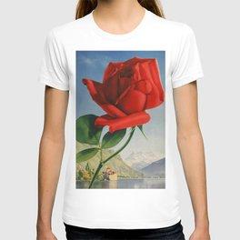 Fresh Red Rose T-shirt