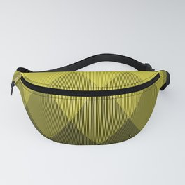 Yellow Ombre Signal Fanny Pack