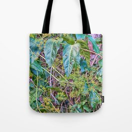 Budding in the rainforest Tote Bag