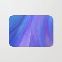 The Purple Wave Bath Mat
