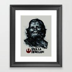 CHE-wbacca Framed Art Print