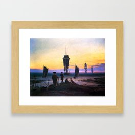 Caspar David Friedrich The Stages of Life Framed Art Print