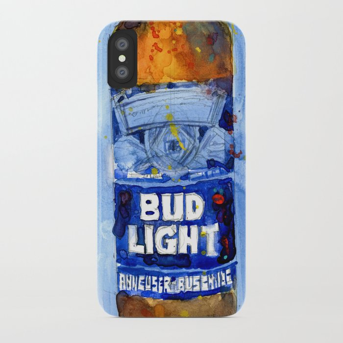 check out c1ff0 18471 Bud Light - Budwiser American Beer iPhone Case by dorrierifkinwatercolors