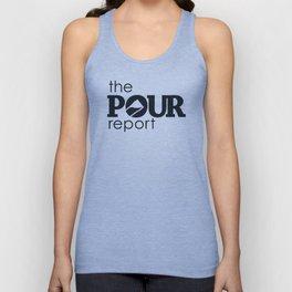 The Pour Report (Black) Unisex Tank Top