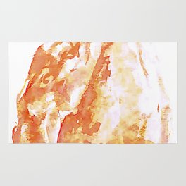 Himalayan Salt Crystal Painting Rug