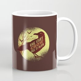 Cool Story Crow Coffee Mug