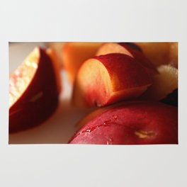 Plums for Breakfast Rug