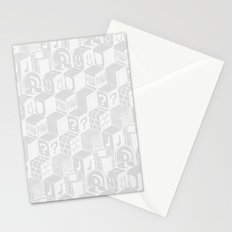 SUPER MARIO BLOCK-OUT! (White Edition) Stationery Cards