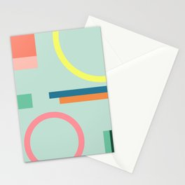 Modern Geometric 71 Stationery Cards