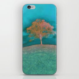 ABSTRACT - solitary tree iPhone Skin
