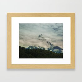 The Call of the Mountain 004 Framed Art Print