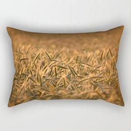 Golden grain   Goldenes Getreide Rectangular Pillow
