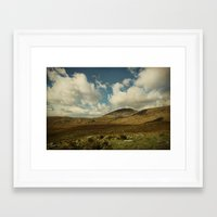 irish Framed Art Prints featuring Irish Skies by Sharon Johnstone