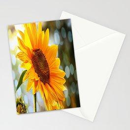 Radiant Sunflower Stationery Cards