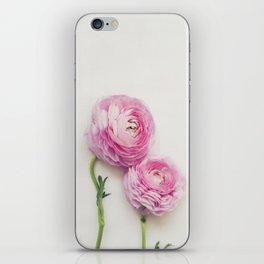 Pink Peonies 2 iPhone Skin