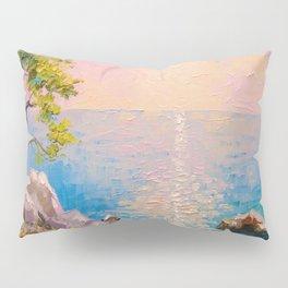 Cote d'azur by the sea Pillow Sham