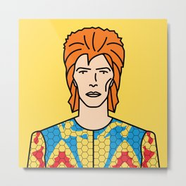 David Bowie – Starman Metal Print