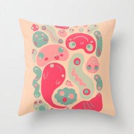 Lullapuff Throw Pillow