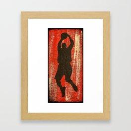 Hoop Dreams 1 Framed Art Print