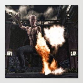 Kung Fu Man Canvas Print