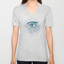 Mandala Vision Flower of Life Unisex V-Neck