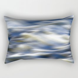 Abstract Waves Rectangular Pillow