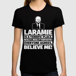 Laramie Funny Gifts - City Humor T-shirt