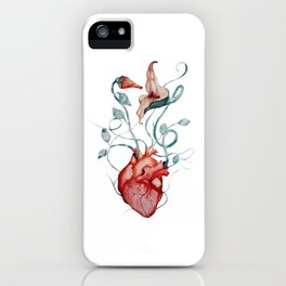 The Wall flowers iPhone Case