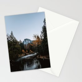 Half Dome from Sentinel Bridge Stationery Cards