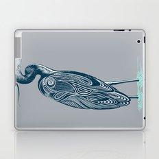 Bewitching blue heron Laptop & iPad Skin
