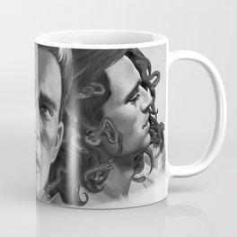 Winter Gorgon b&w Coffee Mug