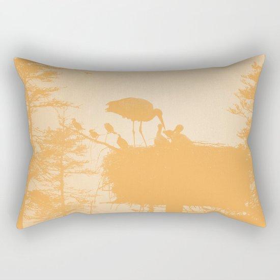 Stork Rectangular Pillow