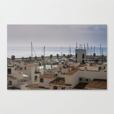 Port d'Aiguadolç Canvas Print