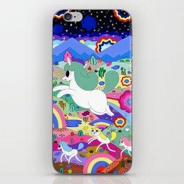 Gary the Farting Unicorn iPhone Skin