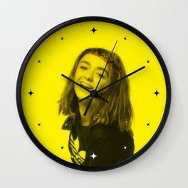 Maisie Williams - Celebrity (Florescent Color Technique) Wall Clock