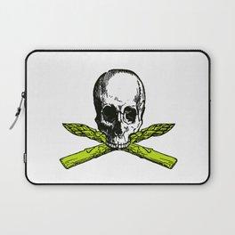skull asparagus Laptop Sleeve