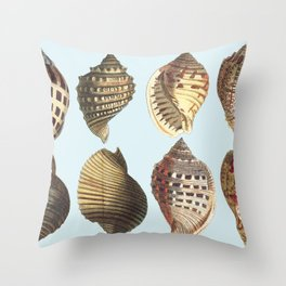 shell sea Throw Pillow