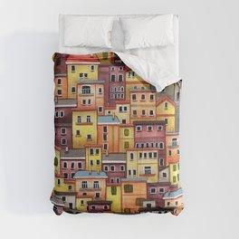 Manarola, Italy Comforters