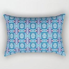 Ethnic Geometric Moroccan Watercolor Seamless Patern 2 Rectangular Pillow