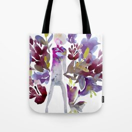 Autumn Lady Tote Bag