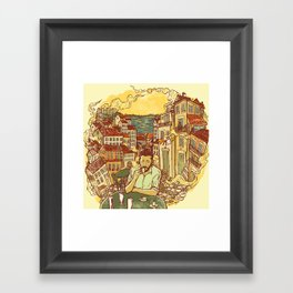 Lisbon Framed Art Print