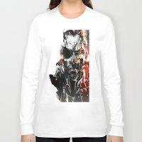 metal gear Long Sleeve T-shirts featuring Metal Gear Solid V by Hisham Al Riyami
