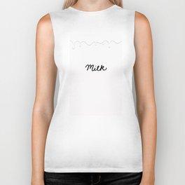 Milk Biker Tank