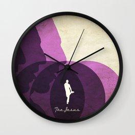 jesus quintana Wall Clock