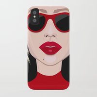 blondie iPhone & iPod Cases featuring Blondie by VictoriaPodi