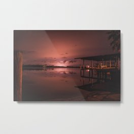 The Meet Metal Print
