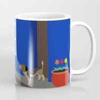 colombia Mugs featuring Colombia  by Design4u Studio