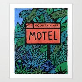 Mt. Hood Village, Oregon, USA Art Print
